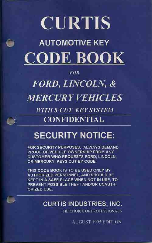 Hawley Lock Supply: Curtis - Code Books